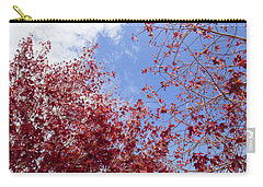 Carry-all Pouch featuring the photograph Red White Blue Colors Of The Nature by Jingjits Photography