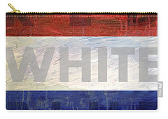 Red White Blue Carry-all Pouch