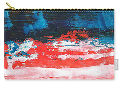 Red White Blue Scene Carry-all Pouch
