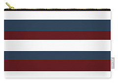 Red White Blue Stripes Carry-all Pouch
