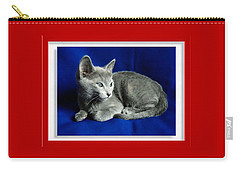 Red, White, Russian Blue Carry-all Pouch
