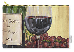 Red Wine And Pear 2 Carry-all Pouch by Debbie DeWitt