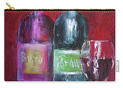 Red Wine Art Carry-all Pouch