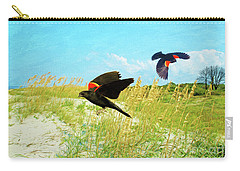 Red-winged Blackbirds Carry-all Pouch