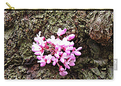 Redbud Flowers 1  Carry-all Pouch by Sarah Loft