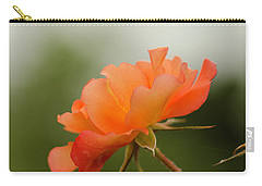 Carry-all Pouch featuring the photograph Redish Orange by Nick Boren