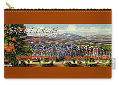 Redlands Greetings Carry-all Pouch
