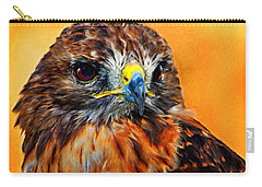 Redtailed Hawk Carry-all Pouch