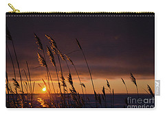 Reeds By Sunset Carry-all Pouch
