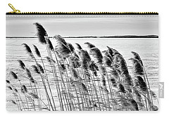 Reeds On A Frozen Lake Carry-all Pouch