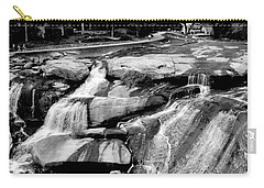 Carry-all Pouch featuring the photograph Reedy River by Corinne Rhode