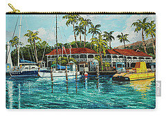 Carry-all Pouch featuring the painting Reef Dancer  by Darice Machel McGuire