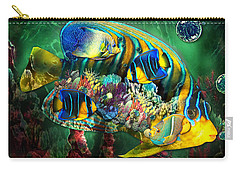 Reef Fish Fantasy Art Carry-all Pouch