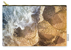 Carry-all Pouch featuring the photograph Reefy Textures by T Brian Jones
