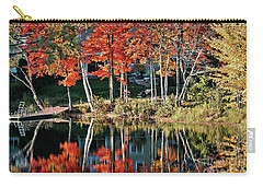 Carry-all Pouch featuring the photograph Reflected Beauty by Aimelle