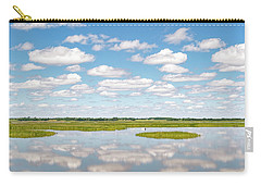 Reflected Clouds - 02 Carry-all Pouch by Rob Graham