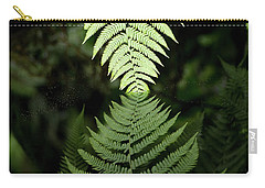 Reflected Ferns Carry-all Pouch