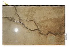 Reflected Sun In Hot Spring Carry-all Pouch by Jayne Wilson