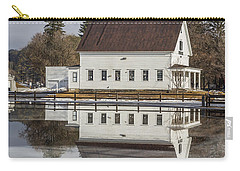 Reflected Town House Carry-all Pouch