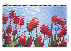 Reflected Tulips Carry-all Pouch
