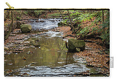 Carry-all Pouch featuring the photograph Reflecting Autumn by Dale Kincaid