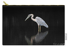 Reflecting Heron Carry-all Pouch