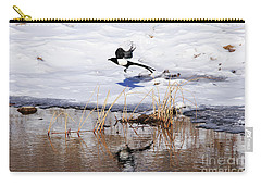 Reflecting Magpie Carry-all Pouch