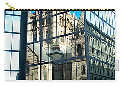 Reflecting On Religion Carry-all Pouch by Greg Fortier
