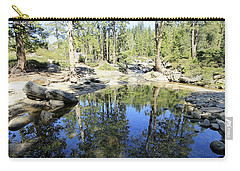 Carry-all Pouch featuring the photograph Reflecting Pond by Sean Sarsfield