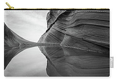 Reflecting Pool At The Wave Carry-all Pouch