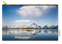 Reflection Grand Tetons Carry-all Pouch