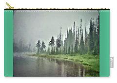Reflection Lake, Mt Rainier Fine Art Print Carry-all Pouch