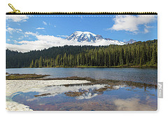 Reflection Lakes In Mount Rainier National Park Carry-all Pouch
