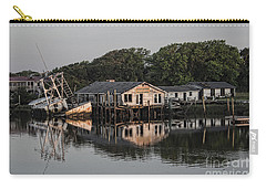 Reflection Noitcelfer Carry-all Pouch by Roberta Byram