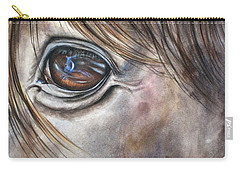 Reflection Of A Painted Pony Carry-all Pouch