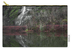Reflection Of A Waterfall Carry-all Pouch