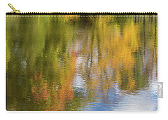 Reflection Of Fall #1, Abstract Carry-all Pouch