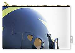 Reflection Of Goal Post In Wolverine Helmet Carry-all Pouch