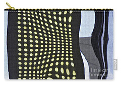 Carry-all Pouch featuring the photograph Reflection On 42nd Street 2 by Sarah Loft