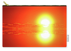 Carry-all Pouch featuring the photograph Reflection On A Sunrise Two  by Lyle Crump