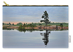 Carry-all Pouch featuring the painting Reflection On The Bay by Kenneth M Kirsch