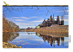 Reflection On The Lehigh - Bethlehem Pa Carry-all Pouch