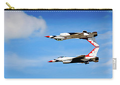 Carry-all Pouch featuring the photograph Reflection Pass by Bryan Carter