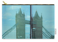 Reflection Tower Bridge Carry-all Pouch