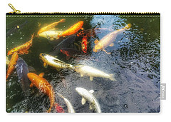 Reflections And Fish 5 Carry-all Pouch