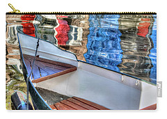 Reflections And Ripples Carry-all Pouch by Nadia Sanowar