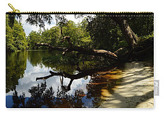 Reflections And Shadows Carry-all Pouch
