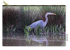 Reflections At Nassau Grove Carry-all Pouch by Allan Levin