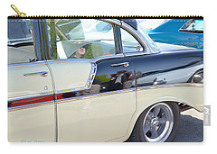 Reflections At The Car Show 3 Carry-all Pouch
