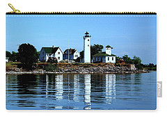 Reflections At Tibbetts Point Lighthouse Carry-all Pouch